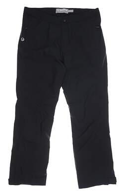 New Womens SUNICE Rainy Zephal Rain Pants Large L Black MSRP $180 S46502