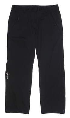 New Womens SUNICE Flexvent Olivia Rain Pants Large L Black MSRP $180 S26500