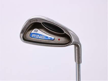 Ping G2 Single Iron 8 Iron Stock Steel Shaft Steel Regular Right Handed Red dot 36.75in