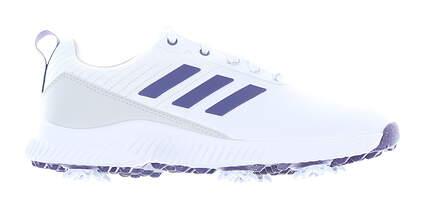 New Womens Golf Shoe Adidas Response Bounce 2.0 Medium 6.5 White MSRP $85 EF6523