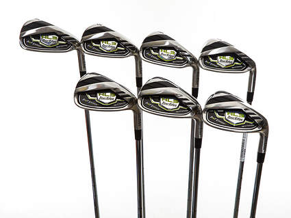Mint Tour Edge Hot Launch 3 Iron Set 4-PW FST KBS Tour 90 Steel Stiff Right Handed 38.25in