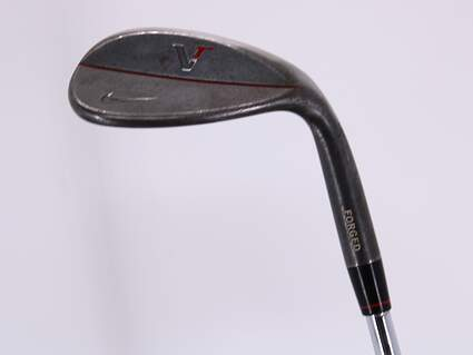 Nike Victory Red Forged Black Wedge Lob LW 58° 10 Deg Bounce True Temper Dynamic Gold S400 Steel Stiff Right Handed 34.75in