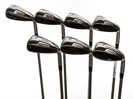 Mint Tour Edge Hot Launch 4 Iron-Wood Iron Set 4-PW UST Mamiya HL4 Graphite Regular Right Handed 38.25in