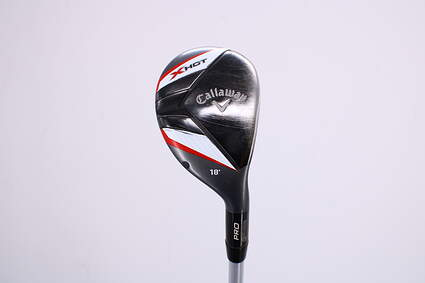 Callaway 2013 X Hot Pro Hybrid 2 Hybrid 18° Project X PXv Graphite Stiff Right Handed 41.0in