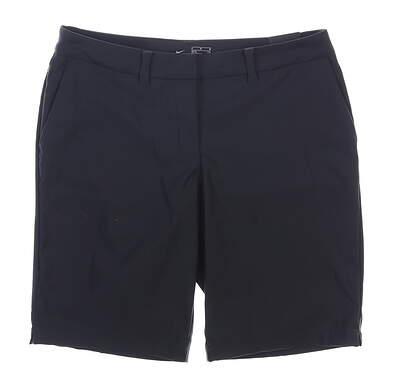 New Womens Nike Golf Shorts 6 Black MSRP $65 884923