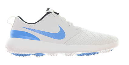New Mens Golf Shoe Nike Roshe G 9.5 White/Blue MSRP $80 CD6065 101