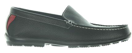 New Mens Golf Shoe Footjoy Club Casual Slip-On Medium 9 Black MSRP $130 79072