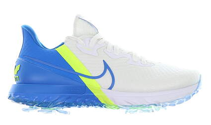 New Mens Golf Shoe Nike Air Zoom Infinity Tour 7 White/Blue MSRP $160 CT0540 102