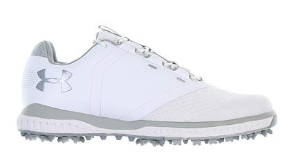 New Womens Golf Shoe Under Armour UA Fade RST 6.5 White/Grey MSRP $110 3000221-102