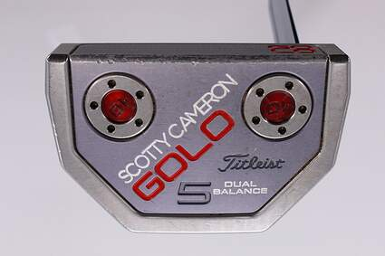 Titleist Scotty Cameron 2015 Golo 5 Dual Balance Putter Steel Right Handed 38.0in