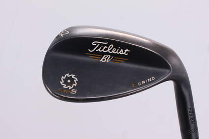 Titleist Vokey SM5 Raw Black Wedge Lob LW 62° 8 Deg Bounce T Grind Titleist SM5 BV Steel Wedge Flex Right Handed 35.0in