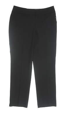 New Womens Cutter & Buck Annika Pants 4 Black MSRP $88 LAB04703