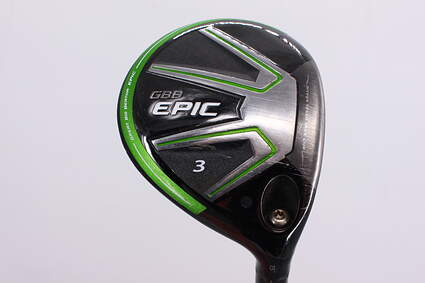Callaway GBB Epic Fairway Wood 3 Wood 3W 15° Aldila DVS 70 Graphite Stiff Right Handed 43.0in