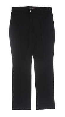 New Womens Ralph Lauren RLX Pants 8 Black MSRP $100