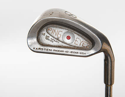 Ping Eye 2 + No + Single Iron 8 Iron Ping ZZ Lite Steel Stiff Right Handed Red dot 36.25in