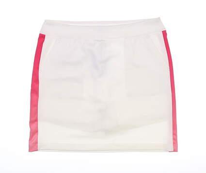 New Womens Greg Norman Golf Skort Medium M White MSRP $79 G2S7H383