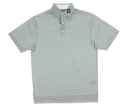 New Mens Footjoy Golf Polo Small S Multi MSRP $75 26145
