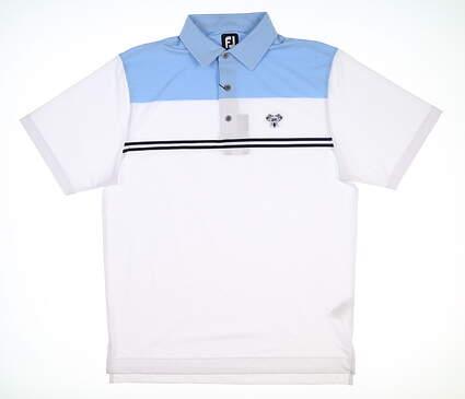New W/ Logo Mens Footjoy Polo Medium M Multi MSRP $80 26070