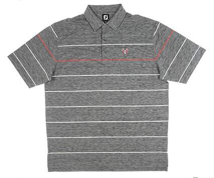 New W/ Logo Mens Footjoy Polo X-Large XL Gray MSRP $80 26030
