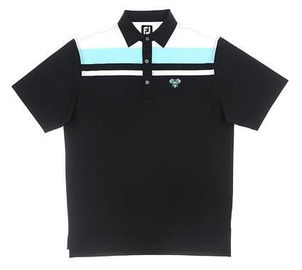 New W/ Logo Mens Footjoy Polo Medium M Multi MSRP $80