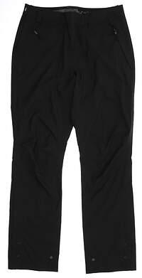 New Womens Zero Restriction Rain Pants Small S Black MSRP $280
