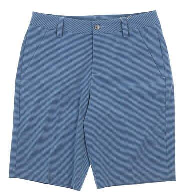 New Mens Puma Stripe It Shorts 28 Blue Heaven MSRP $70 570506 02