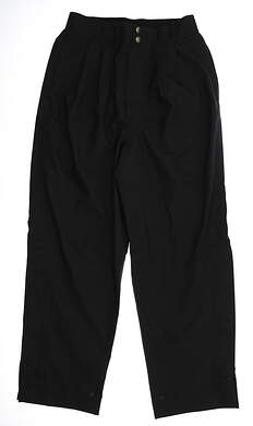 New Mens Zero Restriction Rain Pants Medium M Black MSRP $302