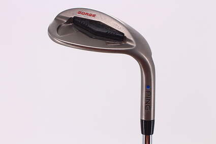 Ping Tour Gorge Wedge Lob LW 60° Wide Sole Ping Z-Z65 Steel Stiff Right Handed Blue Dot 35.5in