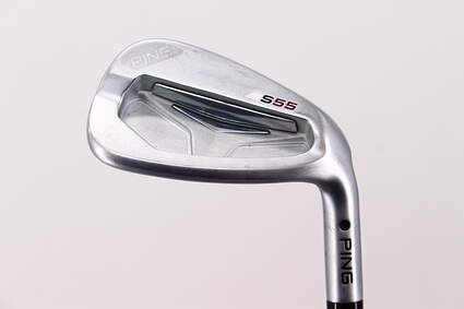 Ping S55 Single Iron Pitching Wedge PW Ping CFS with Cushin Insert Steel X-Stiff Right Handed Black Dot 35.75in