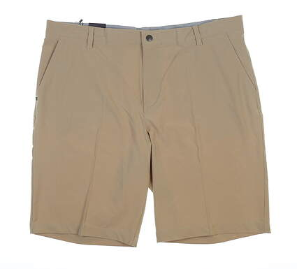 New Mens Adidas Golf Shorts 40 Khaki MSRP $65 CE0457