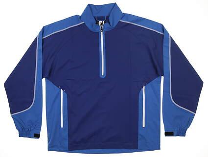New Mens Footjoy Sport Windshirt Large L Twilight/ Blue Marlin MSRP $89 32648