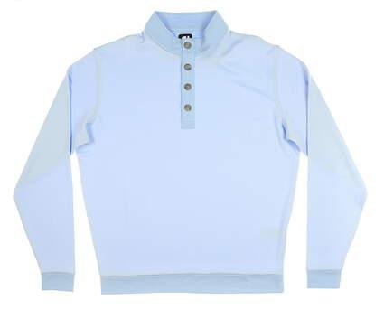 New Mens Footjoy Pullover Large L Blue MSRP $95