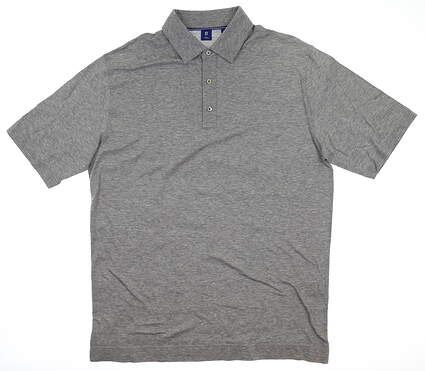 New Mens Footjoy 1857 Polo Large L Gray MSRP $85