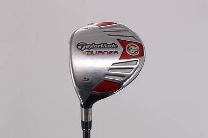 TaylorMade 2007 Burner Steel Fairway Wood 5 Wood 5W 18° TM Reax 45 Graphite Regular Left Handed 42.25in