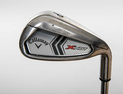 Callaway 2013 X Hot Single Iron Pitching Wedge PW Callaway X Hot Steel Uniflex Right Handed 35.5in