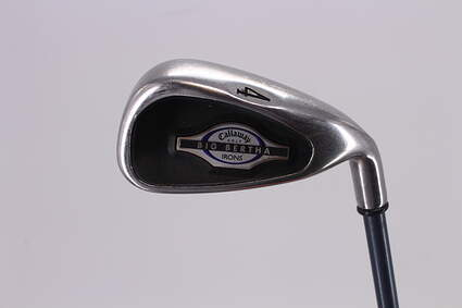 Callaway 2002 Big Bertha Single Iron 4 Iron Callaway RCH 65w Graphite Ladies Right Handed 37.25in