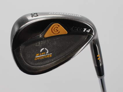 Cleveland CG14 Gunmetal Wedge Gap GW 52° 10 Deg Bounce Cleveland Traction Wedge Steel Wedge Flex Right Handed 36.25in