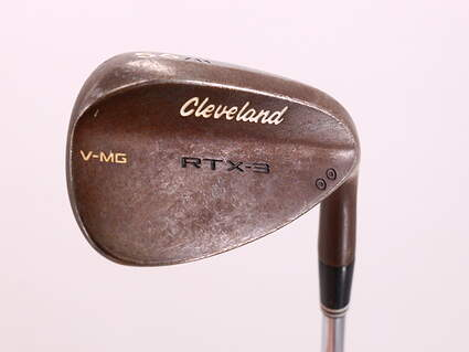 Cleveland RTX-3 Tour Raw Wedge Sand SW 56° 11 Deg Bounce V-MG Nippon NS Pro Modus 3 Tour 120 Steel Stiff Right Handed 35.75in