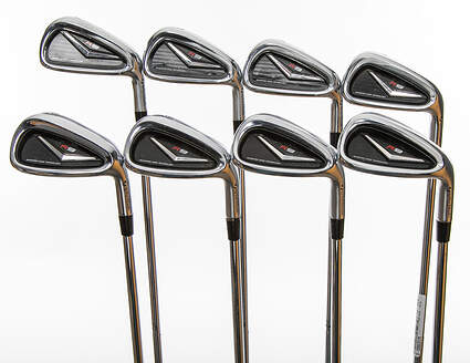 TaylorMade R9 Iron Set 4-PW GW True Temper Dynamic Gold S300 Steel Stiff Right Handed 38.0in