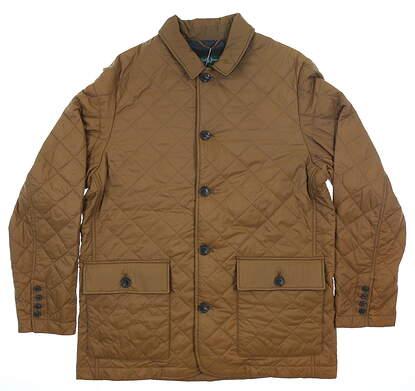 New Mens Bobby Jones Jacket Large L Brown MSRP $260 BJK31010