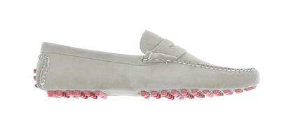 New Mens Golf Shoe Peter Millar Loafer 11.5 Taupe MSRP $300