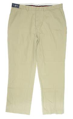 New Mens Ralph Lauren Links Fit Golf Pants 40 x32 Khaki MSRP $75 4865517