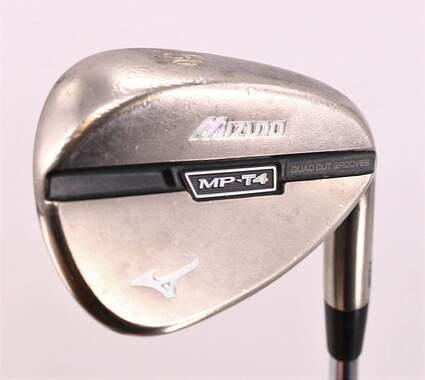 Mizuno MP-T4 White Satin Wedge Sand SW 56° 10 Deg Bounce Dynamic Gold Spinner Steel Wedge Flex Right Handed 36.0in