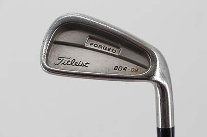 Titleist 804.OS Single Iron 6 Iron True Temper Dynamic Gold S300 Steel Stiff Right Handed 37.5in