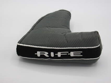 Guerin Rife Blade Putter Headcover Grey/Black