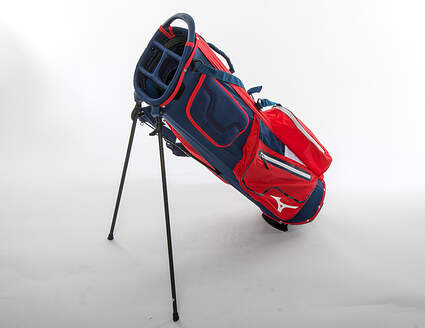 Mint 9.5 Mizuno K1-lo Red/Navy Stand Bag