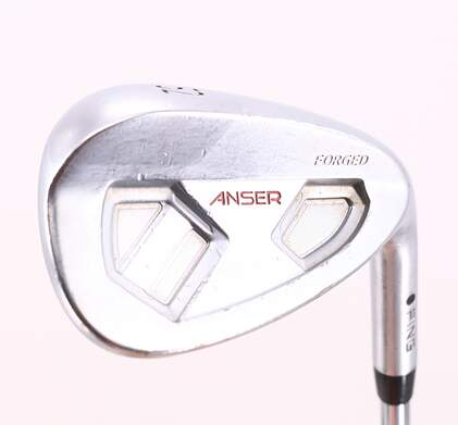 Ping Anser Forged Wedge Gap GW 52° Dynamic Gold Spinner Steel Wedge Flex Right Handed Black Dot 35.75in