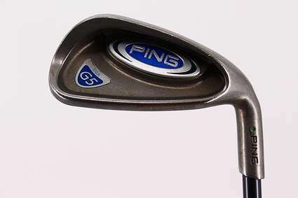 Ping G5 Single Iron 9 Iron Grafalloy ProCustom Graphite Regular Right Handed Green Dot 37.0in