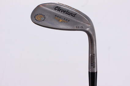 Cleveland 2012 588 Raw Tour Grind Wedge Gap GW 52° 8 Deg Bounce True Temper Dynamic Gold Steel Stiff Right Handed 35.25in