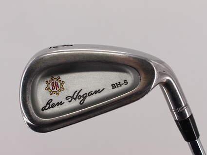 Ben Hogan BH-5 Single Iron 6 Iron Hogan Apex 3 Steel Steel Regular Right Handed 37.5in